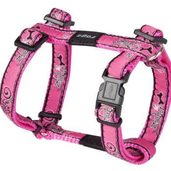 rogz hundesele 25 mm pink