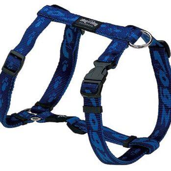 rogz hundesele 25mm blå