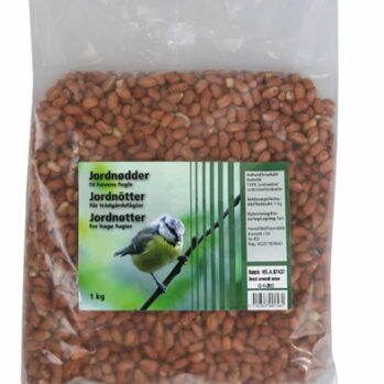 Afskallede jordnødder 5 kg
