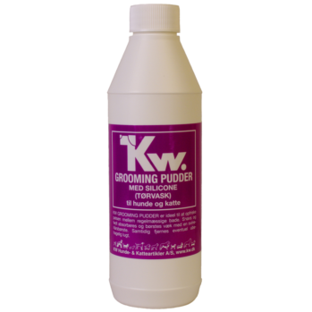 KW Grooming Pudder Med Silicone