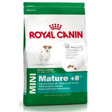 Royal Canin Mini Adult 8+ hundefoder seniorfoder