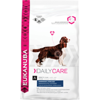 eukanuba daily care sterilised light