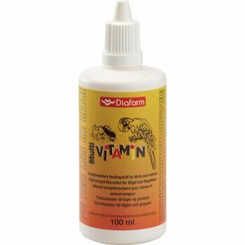 Multivitamin til fugle og gnavere 100 ml.