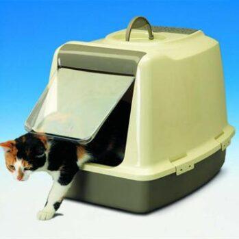 kattebakke med lukket overdel