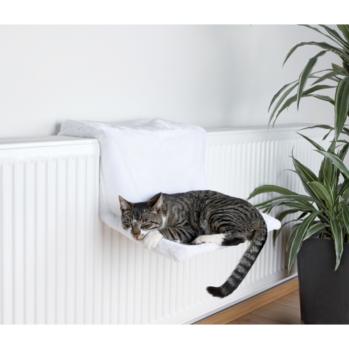 radiatorseng de luxe hvid
