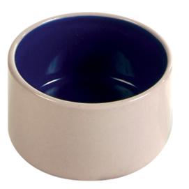 hamsterskål blå keramik