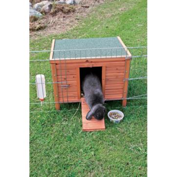 stort kaninhus udendørs