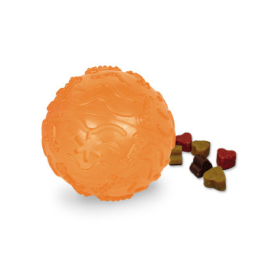 stor orange aktivitetsbold