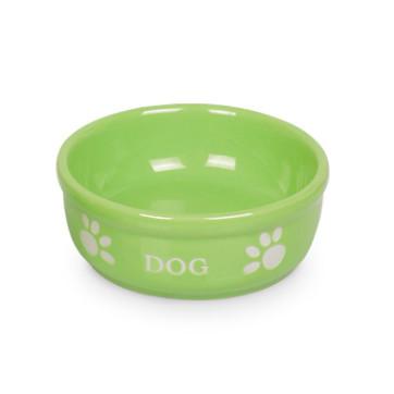 keramikskål medium grøn