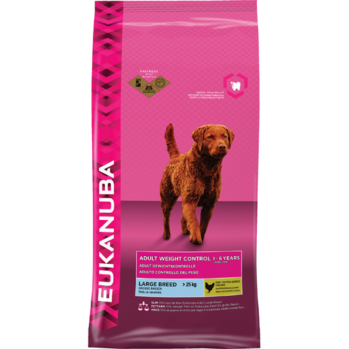 eukanuba light large breed