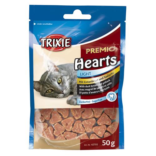 trixie hjertegodbidder med andebryst og fisk
