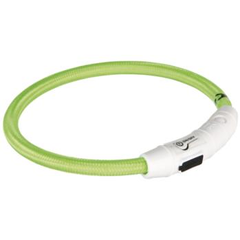 grøn blinkende halsbånd
