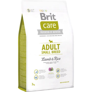 brit care adult small breed, hypoallergen