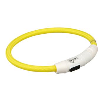 blinkende lysring gul