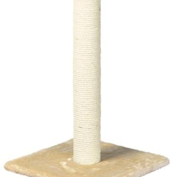 62 cm kradsetræ beige