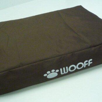 woof pude brun