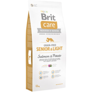 Brit kornfri senior & light 12 kg