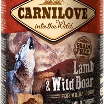 Carnilove dåsefoder med lam og vildsvin