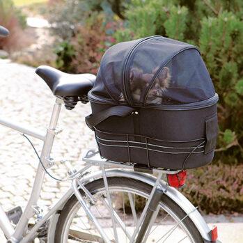 cykeltaske til hunde