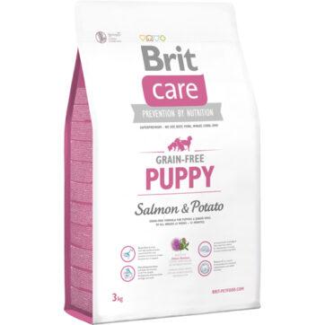 Brit care kornfri puppy er et godt fodervalg.