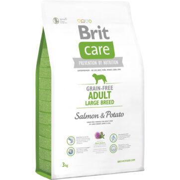 Brit care kornfri adult, er et hundefoder, osm er tilpasset store racer.