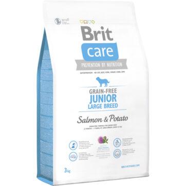 Brit care kornfri junior, hundefoder til store hunderacer
