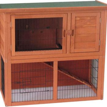 kaninbur i 2 etager