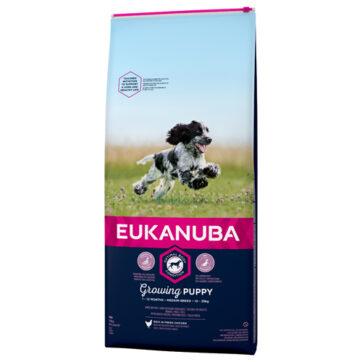 eukanuba hvalp medium