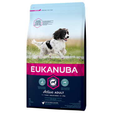Eukanuba adult medium breed,