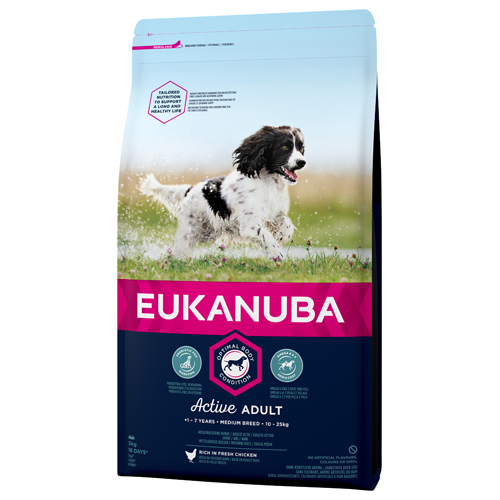Eukanuba adult medium breed,