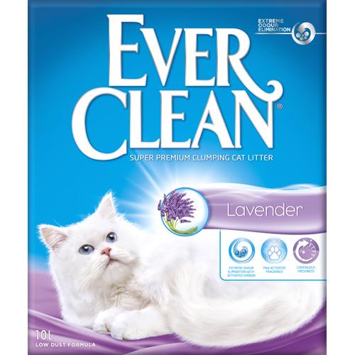 EverClean kattegrus lavendel