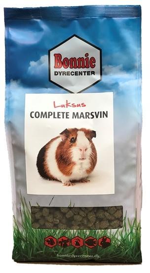 Fagmandens marsvin luksus complete 800 gram.