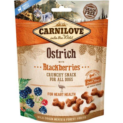 carnilove crunchy snack struds og brombær.