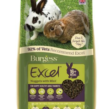 Burgess kaninfoder med mint