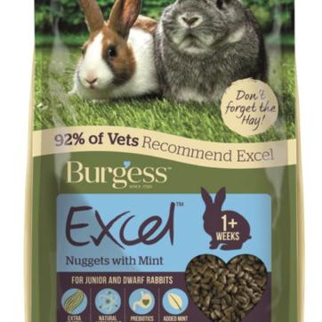 burgess junior kaninfoder