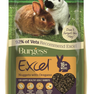 burgess kaninfoder med oregano