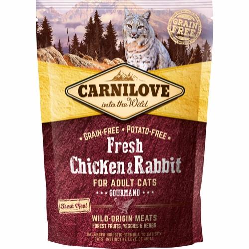 Carnilove kattefoder kylling og kanin 400 gram
