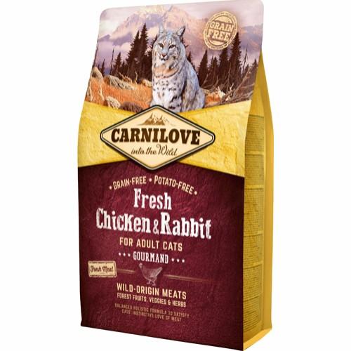 Carnilove kattefoder kylling og kanin 6 kg