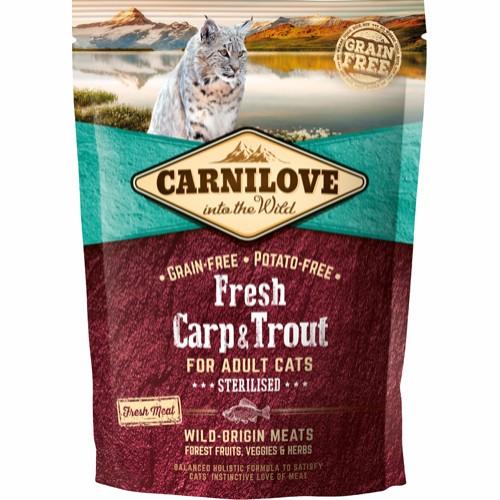 Carnilove Sterilised karpe og ørred 400 gram