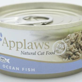 Applaws Vådfoder til kat med makrel og tun