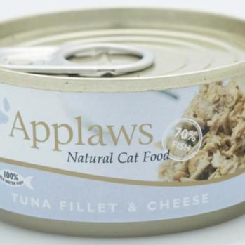 Applaws Vådfoder til kat med tun og ost