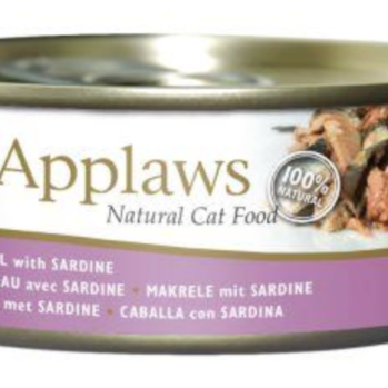 Applaws Vådfoder til kat med makrel og sardin