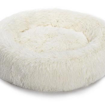 Donut seng anti stress hvid ø58 cm