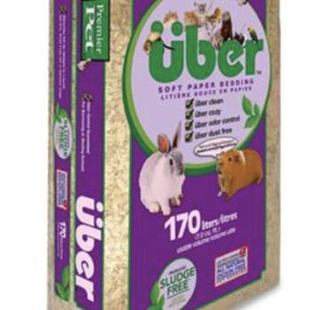 Papirstrøelse UBER 170 ltr natur