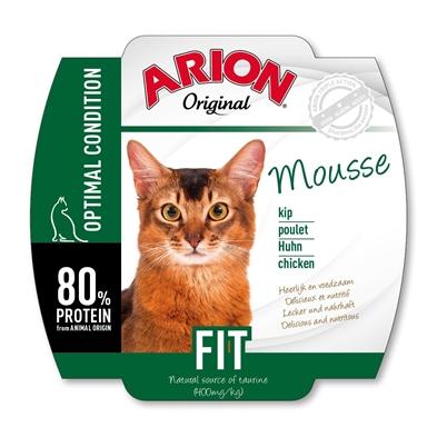 Arion vådfoder til voksne katte mousse