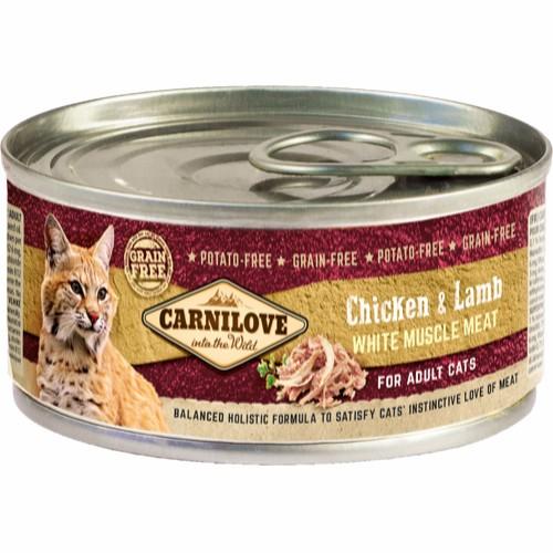 CARNILOVE vådfoder Kylling og lam.