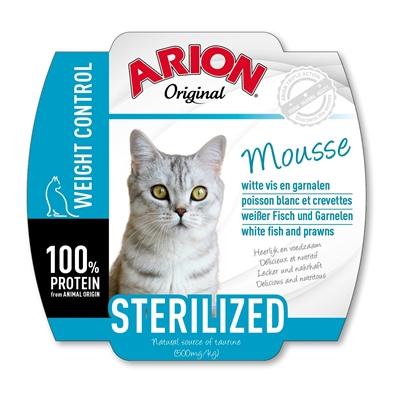 ARION vådfoder Sterilized til voksne katte