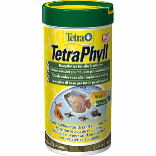TetraPhyll fiskefoder 250 ml.