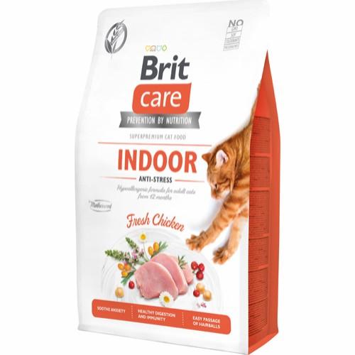 BRIT CARE indendørs katte 2 kg