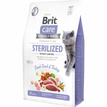 BRIT CARE sterilized light 7 kg